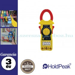 HOLDPEAK 6206 digitális lakatfogó, multiméter
