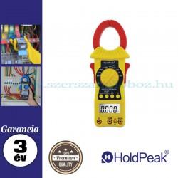 HOLDPEAK 6207 digitális lakatfogó, multiméter