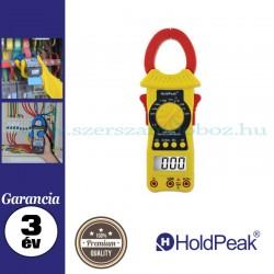 HOLDPEAK 6208 digitális lakatfogó, multiméter