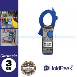 HOLDPEAK 850A digitális lakatfogó, multiméter