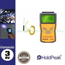 HOLDPEAK 885A Digitális hőmérsékletmérő, külső mérőszonda