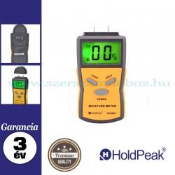 HOLDPEAK 883A univerzális, digitális nedvességmérő