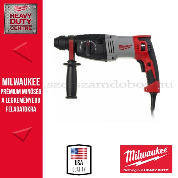 Milwaukee PH 28  Fúró-vésőkalapács