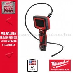 Milwaukee C12 IC AVA-201C Szuperkompakt audiovizuális vizsgálókamera
