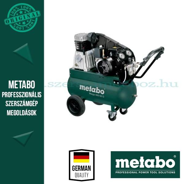 Metabo Mega 390-50 D  Kompresszor 380Volt 3 fázis