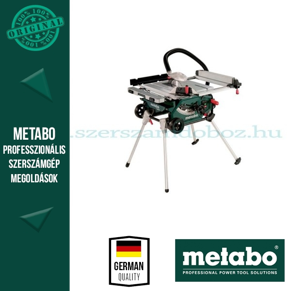 Metabo TS 216 Asztali körfűrész