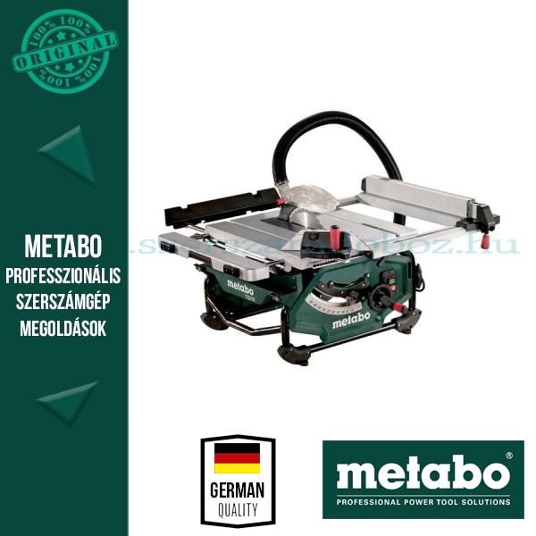 """Metabo TS 216 Asztali körfűrész """"Floor"""""""