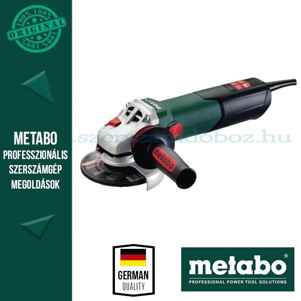 Metabo WE 15-125 Quick Sarokcsiszoló