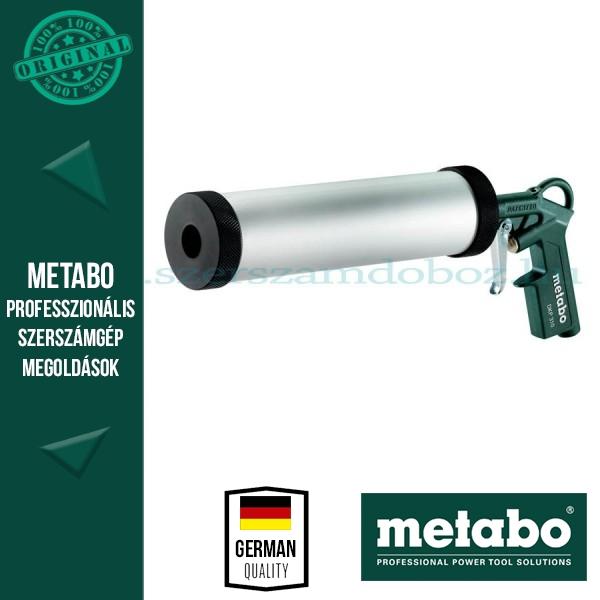 Metabo DKP 310 Kartuskinyomó pisztoly sűrített levegős