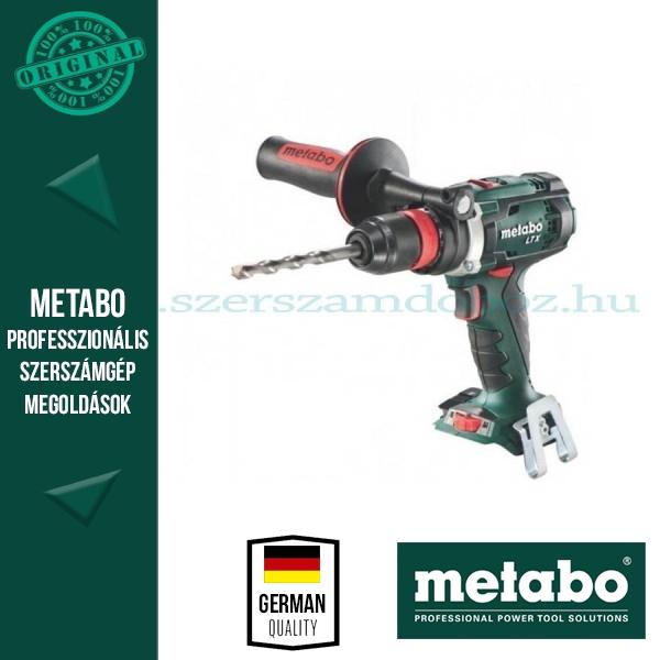 Metabo BS 18 BL Quick Solo akkus fúró-csavarozó alapgép
