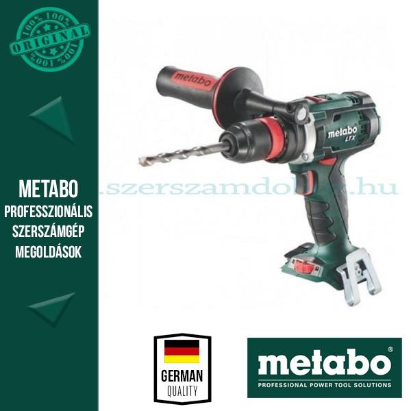Metabo BS 18 LTX Quick Akkus fúró-csavarozó (alapgép)