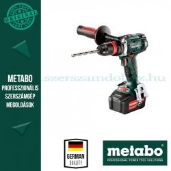 Metabo BS 18 LTX Quick fúró-csavarozó 5,2Ah