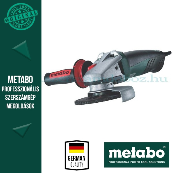 Metabo WE 9-125 Quick Sarokcsiszoló