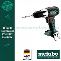 Metabo SB 18 LT Akkus fúró-ütvefúró-csavarbehajtó (alapgép)