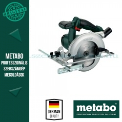 Metabo KSA 18 LTX Akkus körfűrész (alapgép)