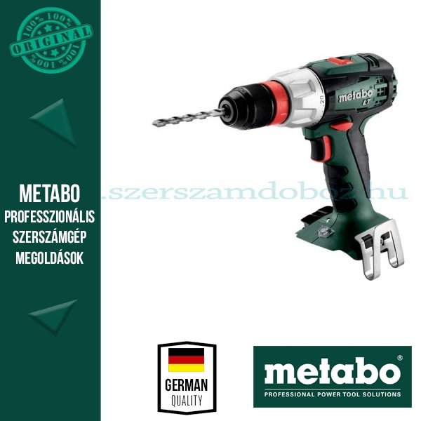 Metabo BS 18 LT Quick Akkus fúrócsavarbehajtó (alapgép)