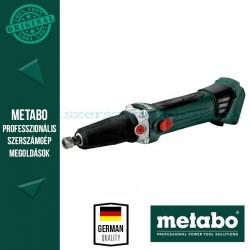 Metabo GA 18 LTX Akkus egyenescsiszoló (alapgép)