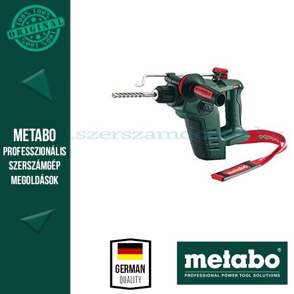 Metabo BHA 18 LTX Akkus fúrókalapács alapgép