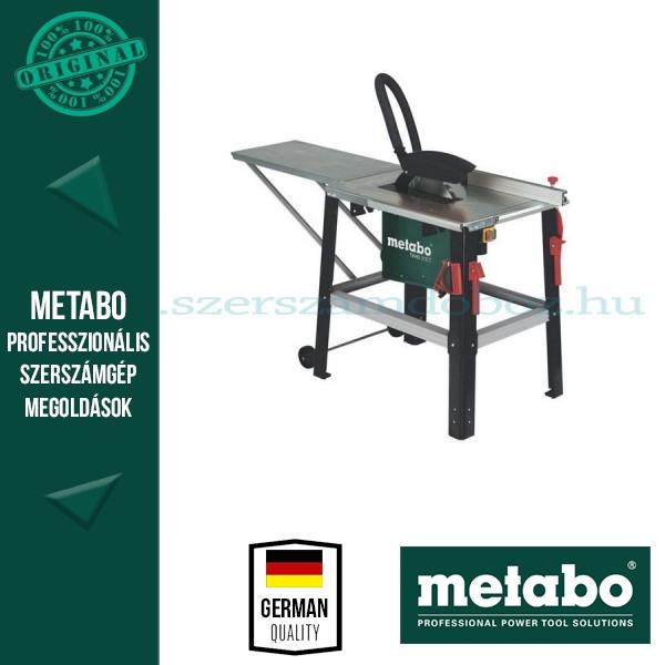 Metabo TKHS 315C 2,00 WNB Asztali körfűrész