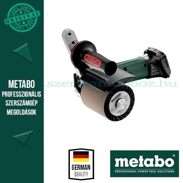 Metabo S 18 LTX 115 Akkus palástcsiszoló (alapgép)