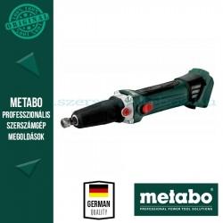 Metabo GA 18 LTX  G Akkus egyenescsiszoló (alapgép)