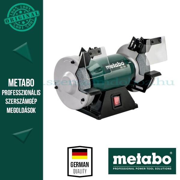 Metabo DS 125 Kettős köszörű