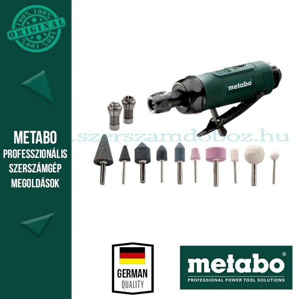 Metabo DG 25 SET Levegős egyenescsiszoló