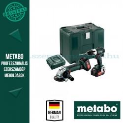 Metabo ComboSet 18V akkus sarokcssizoló + fúró-csavarbehajtó