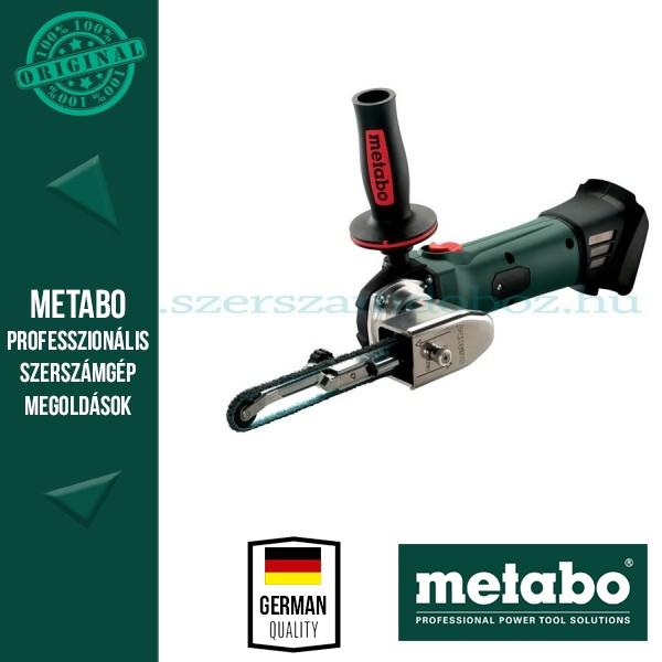 Metabo BF 18 LTX 90 Akkus keskeny szalagcsiszoló (alapgép)