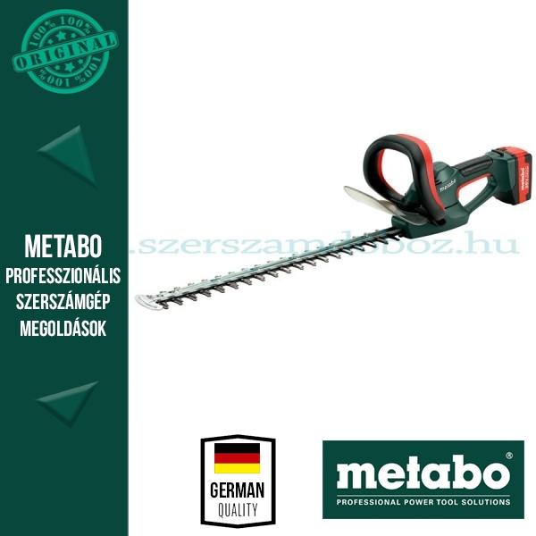 Metabo AHS 36-65 V Akkus sövényvágó