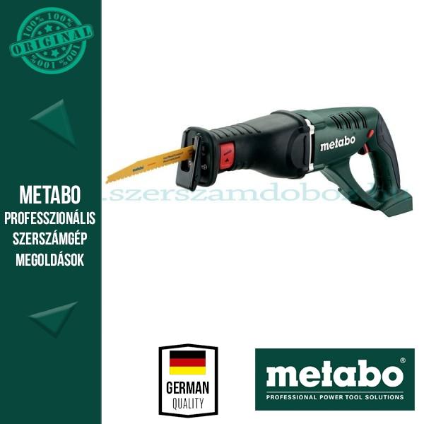 Metabo ASE 18 LTX Akkus orrfűrész (alapgép)