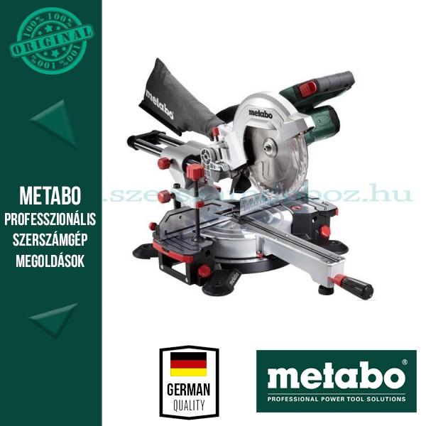Metabo KS 18 LTX 216 Gérfűrész (nem kihúzható) akkuval és töltővel