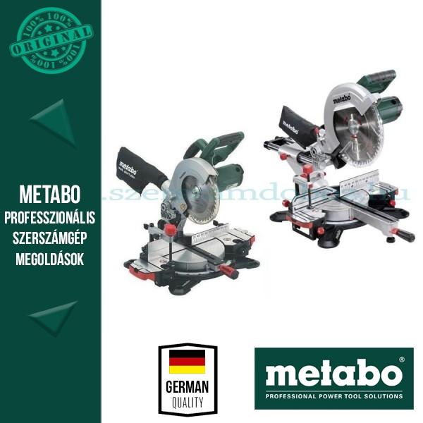 Metabo KGS 305 Gérvágófűrész + KS 216 M Lasercut Gérvágófűrész