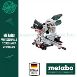 Metabo KGSV 216 M Fejező -és gérvágófűrész