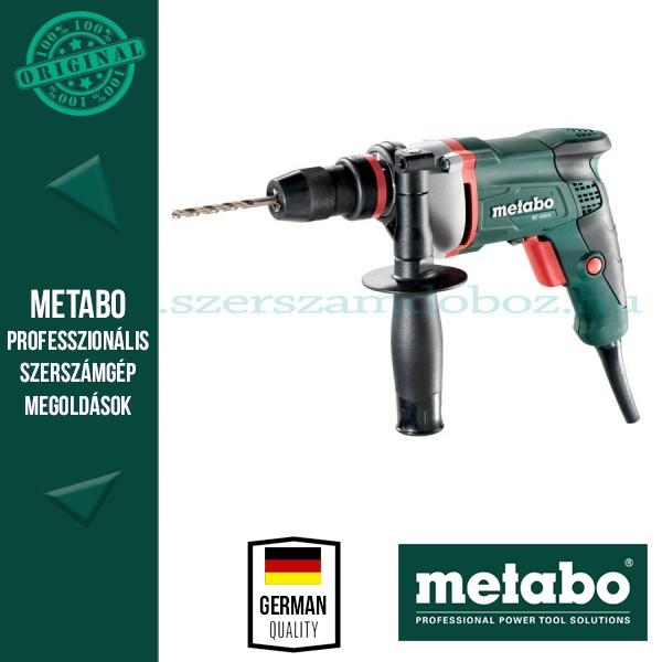 Metabo BE 500/6 Elektromos fúrógép