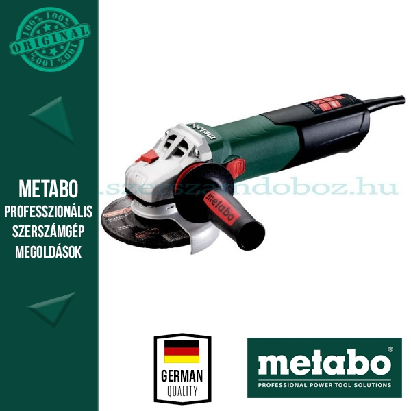 Metabo WEA 15-125 Quick Sarokcsiszoló