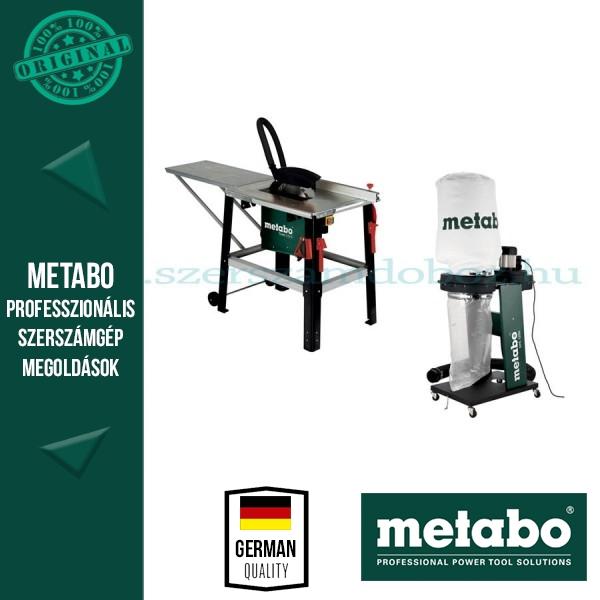 Metabo TKHS 315 C - 2,0 WNB Asztalifűrész + SPA 1200 elszívó