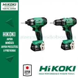 HiKOKI KC12DAWA akkus csomag (DS12DA fúró-csavarozó + WH12DA ütvecsavarozó)