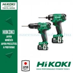HiKOKI KC12DAWB akkus csomag (DV12DA ütvefúró+ WH12DA ütvecsavarozó)