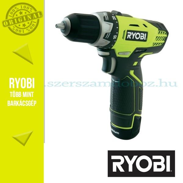 Ryobi 12V-os gépek
