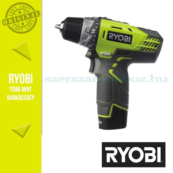 Ryobi R12DD-L13S Akkus Kétsebességes fúrócsavarozó