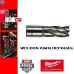 Milwaukee Hss magfúró WELDON 19mm | 30/53mm hossz