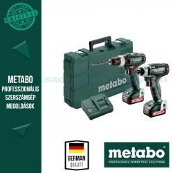Metabo Combo Set 2.7.2 12V (PowerMaxx SB 12 ütvefúró + PowerMaxx SSD 12 ütvecsavarozó)