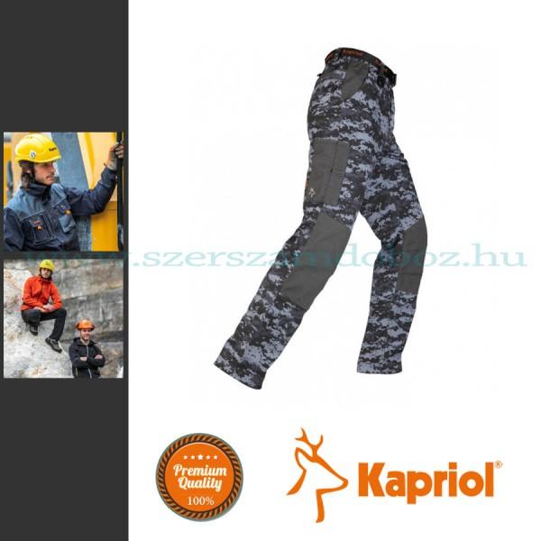 Kapriol Teneré munkavédelmi nadrág szürke terep színű XXL