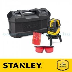 Stanley Multiline Lézer 4V1H – Vörös