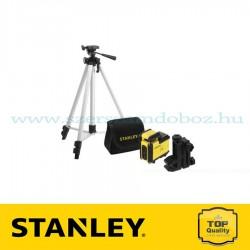 Stanley SLL360 Keresztlézer, Tripod, Táska – Vörös