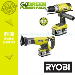 Ryobi LCDI1802M Akkus ütvefúró-csavarozó + RRS1801 orrfűrész
