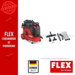 FLEX VCE 33 L AC - Ipari porszívó automata szűrőtisztítással, takarító szettel, 30 Liter