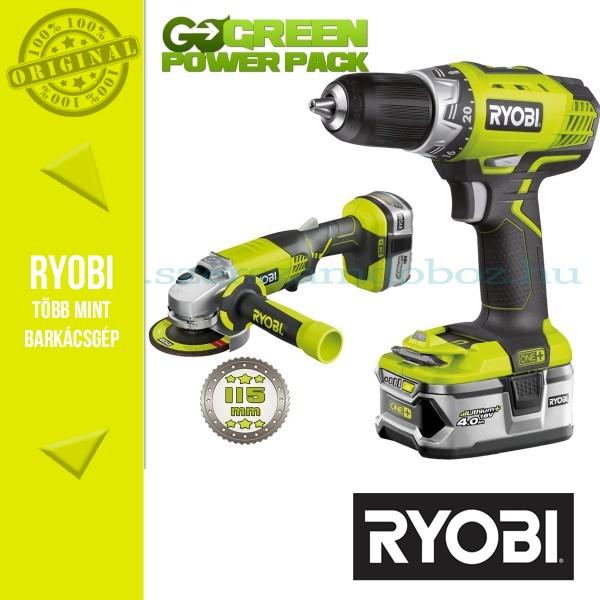 Ryobi Akkumulátoros Gép Csomagok