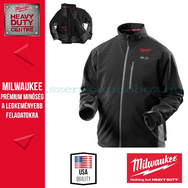 Milwaukee M12 HJBL2-201 M Fűthető kabát